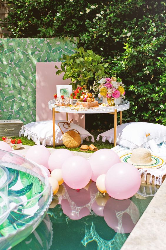 Pool Party Decorating Ideas
