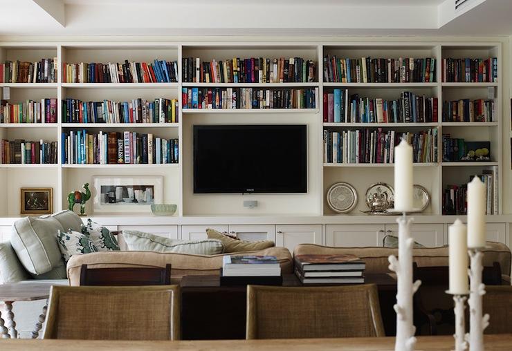hiding your tv interior decor blog acme real estate Los Angeles inspiration
